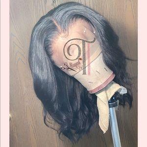 Brazilian Virgin Human Hair Lace frontal wig